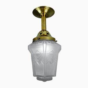 Geometric Art Deco Ceiling Lamp