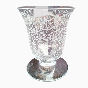 Michelangelo Vase in Crystal from Baccarat, 1950s