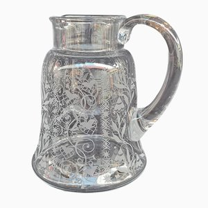 Argentina Jug in Crystal from Baccarat, 1950s
