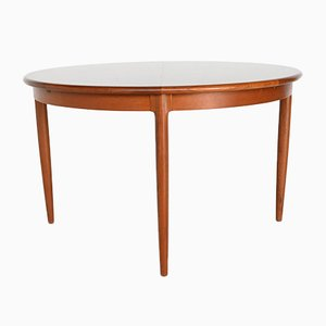 Model 15 Extendable Dining Table in Teak by Niels Otto Moller, Denmark, 1960s
