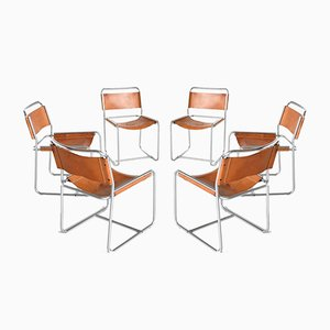 SE18 Dining Chairs by Claire Bataille & Paul Ibens for 't Spectrum, the Netherlands, Set of 6