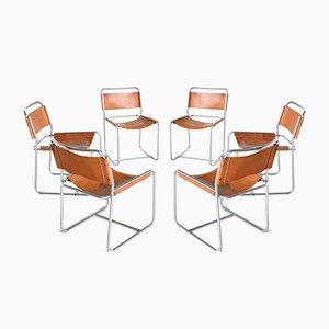 SE18 Esszimmerstühle von Claire Bataille & Paul Ibens für 't Spectrum, the Netherlands, 6er Set