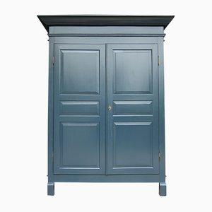 Armadio grigio-blu, XIX secolo