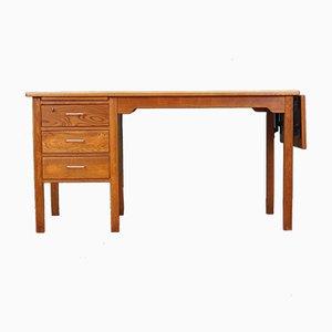 Danish Oak Desk, 1970s
