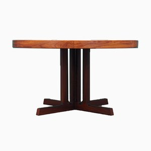 Rosewood Table by Johannes Andersen for Hans Bech, Denmark, 1970s
