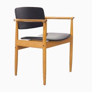 Danish Oak Armchair by P. E. Jorgensen for Farso, 1960s