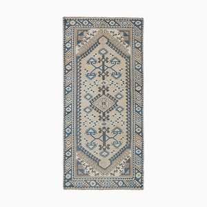 Turkish Hand-Knotted Runner Rug