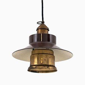 Lampe à Suspension Industrielle, 1960s