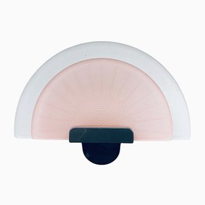 Postmodern Italian Diva Pink Wall Lamp Sconce from Arteluce, Italy, 1980s