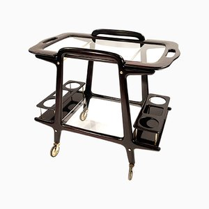 Mid-Century Bar Cart or Trolley by Ico Parisi for De Baggis, Italy, 1950s