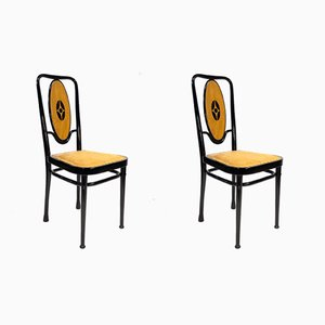 Art Nouveau Chairs by Marcel Kammerer for Thonet, Vienna, 1908, Set of 2