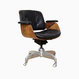 Chaise de Bureau Modèle D49 Vintage par Hans Könecke pour Tecta, 1960s