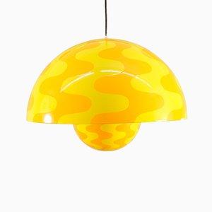 Lampe Pot de Fleur Psychédélique par Verner Panton pour Louis Poulsen, 1970s