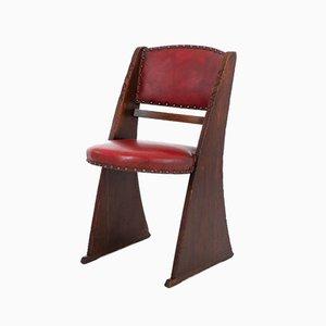 Chaises Art Déco par Ebenezer Gomme, Set de 4