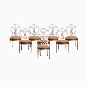European Chairs and Armchairs, Set of 8