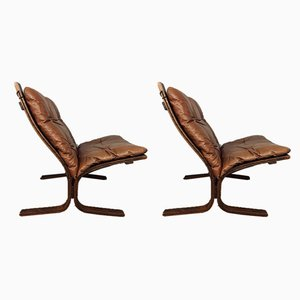 Siesta Lounge Chairs by Ingmar Relling, 1970s, Set of 2