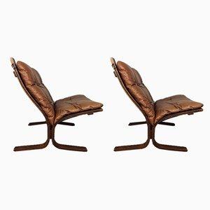 Siesta Sessel von Ingmar Relling, 1970er, 2er Set