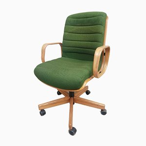 Mid-Century Executive Office Swivel Desk Chair by Martin Stoll for Giroflex