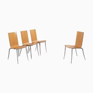 Olly Tango Chairs von Philippe Starck für Driade, 4er Set