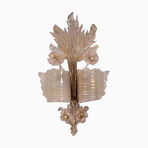 Wandlampe aus Muranoglas