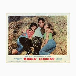 Kissin Cousins, Elvis Presley, 1964, Aushangkarte