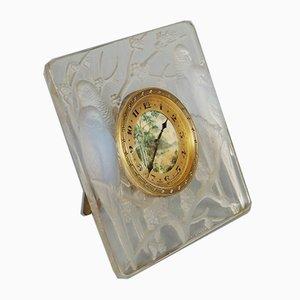 Inseparable Clock by René Lalique, Set of 2