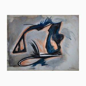 Giorgio Lo Fermo, Abstract Shape, Oil on Canvas, 2021