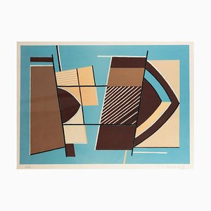 Alberto Magnelli, Abstract Composition, Lithograph, 1960s