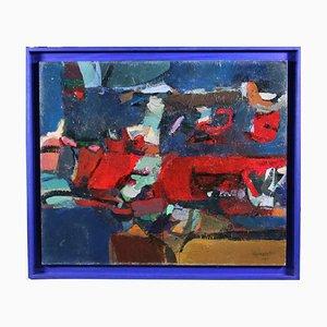Paul Nicholls, Irak, Acrylic on Cardboard, 2004