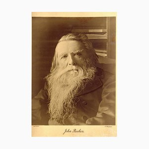 Charles Philip McCarthy, Porträt von John Ruskin, Fotografie, 1890er