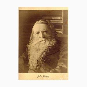 Charles Philip McCarthy, Retrato de John Ruskin, fotografía, década de 1890