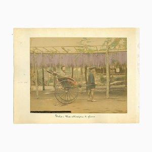 Imprimé Albumine Antique, Tokyo, 1880s-1890s