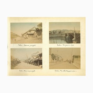 Unknown, Ancient Views of Tokyo, Impressions d'Album, 1880s-1890s