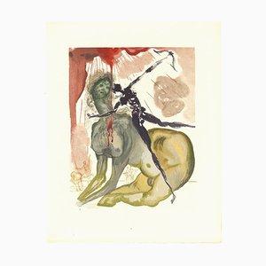 Salvador Dalí, Der Minotaurus, Holzschnitt, 1963