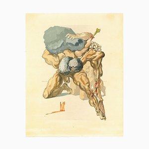 Salvador Dalí, The Avaricious and the Prodigal, Woodcut Print, 1963