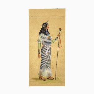 Unknown, Costume for Aida, Tempera and Watercolor, 1920s
