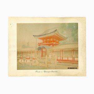 Stampa antica sconosciuta di Kyoto, album, fine XIX secolo
