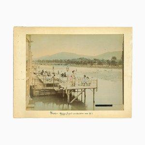 Unknown, Ancient View of Kyoto, Teegeschäft, 1890er-1890er