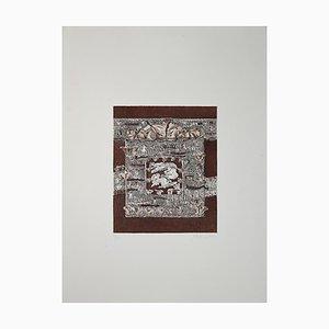 Luigi Gheno, Schmetterlingspool, Aquatinta & Radierung, 1970er