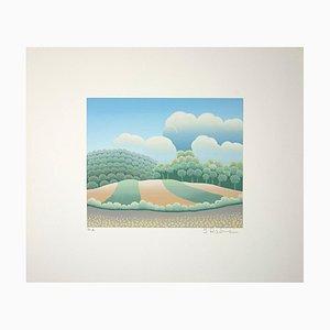 Ivan Rabuzin, Sweet Hills, Screen Print, 1990s