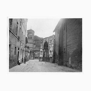 Unknown, San Giorgio in Velabro, Disappeared Rome, B/W Photograph, 1929