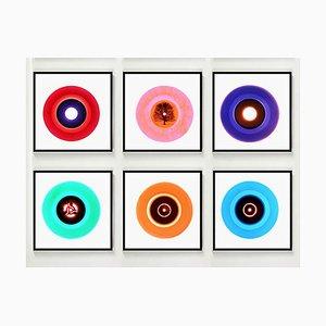 B Side Vinyl Collection, Sechsteiliges Set, Pop Art Farbfotografie 2014-2017