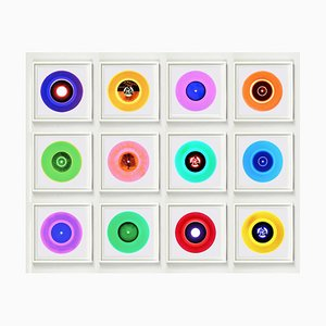 B Side Vinyl Collection Installation, Pop Art Multi-Color Photo 2016