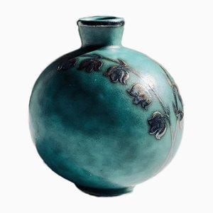 Miniatur Argenta Vase von Wilhelm Kage für Gustavsberg, 1930er