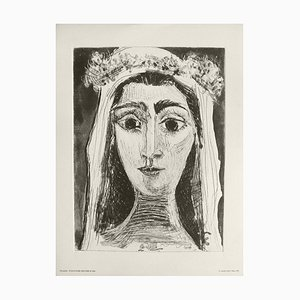 Jacqueline Wedding Surface (6) by Pablo Picasso