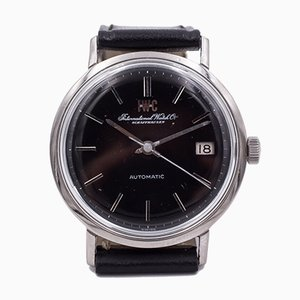Vintage Automatic Wristwatch in Steel with Date from IWC International Watch Company, 1960s