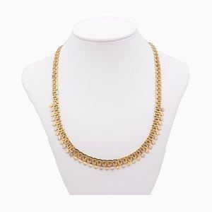 Vintage Halskette aus 18 Karat Gold, 1940er