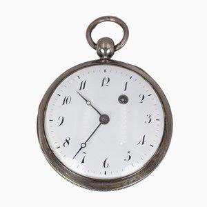 Silberne Taschenuhr, 1800er