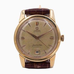 Vintage Omega Seamaster Uhr mit 18 Karat Gold, 1952