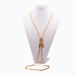 Antike 14k Gold Halskette, 1800er